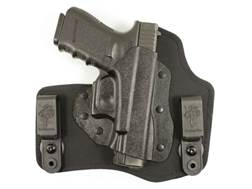 DeSantis Invader Inside the Waistband Holster Right Hand Glock 17, 19, 22, 23, 26, 27, 36 Kydex and Nylon Black