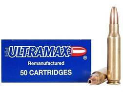 Ultramax Remanufactured Ammunition 308 Winchester 110 Grain Jacketed Hollow Point Box of 100