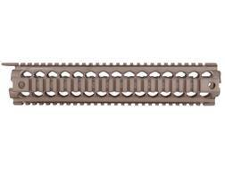 Midwest Industries 2-Piece Gen 2 Handguard Quad Rail AR-15 Rifle Length Aluminum Flat Dark Earth