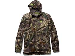 Under Armour Men's Gore-Tex Essential Rain Jacket Polyester and Gore-Tex Mossy Oak Treestand Camo Large