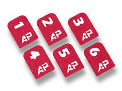 AP Customs Magazine ID Grip Tape Universal Pistol Package of 6