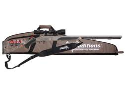 "Traditions Crush Vortek Strikerfire Muzzleloading Rifle with 3-9x 40mm Rangefinding Scope 50 Caliber 28"" Cerakote Barrel Hogue Overmold Stock Realtree Xtra Camo"