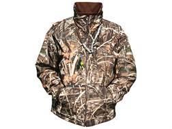 Drake Men's MST Waterfowl Fleece Full Zip Waterproof Jacket Polyester Realtree Max-4 Camo 2XL