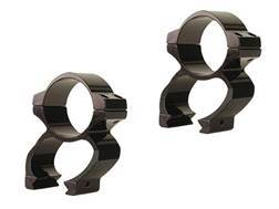Ironsighter 30mm See-Thru Weaver-Style Rings Gloss