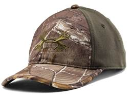 Under Armour Camo Antler 2-Tone Cap Polyester Realtree Xtra and Rifle Green