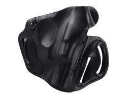 DeSantis Thumb Break Scabbard Belt Holster Right Hand S&W Bodyguard 38 Leather Black