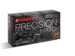 Barnes Precision Match Ammunition 5.56x45mm NATO 85 Grain Open-Tip Match (OTM) Box of 20