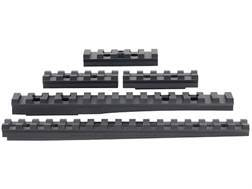Advanced Technology 5-Piece Accessory Rail Package Fits ATI Strikeforce Stock for Ruger Mini-14, Mini-30 Aluminum Black