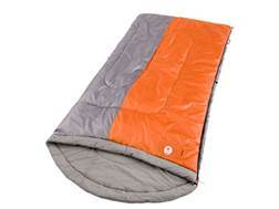 Coleman Nimbus 40-60 Degree Contoured Sleeping Bag Polyester Orange and Silver