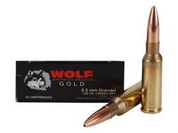 Wolf Gold Ammunition 6.5 Grendel 120 Grain Multi-Purpose Tactical (MPT)
