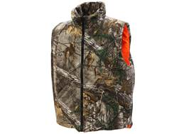 MidwayUSA Men's Hunter's Creek Insulated Reversible Vest Realtree Xtra Camo Blaze Orange