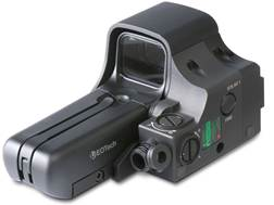 Steiner E-Optics EOLAD IR Laser with EOTech 552 Holographic Weapon Sight 68 MOA Circle with 1 MOA Dot