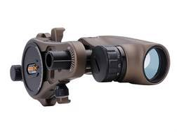 Apex Gear Nano-Dot Dual Color Bow Sight Ambidextrous Aluminum Brown