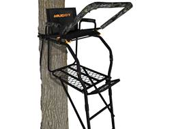 Muddy Outdoors The Huntsman 17' Single Ladder Treestand Steel Black