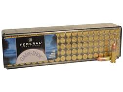 Federal Game-Shok Ammunition 22 Long Rifle High Velocity 40 Grain Plated Lead Round Nose Box of 100
