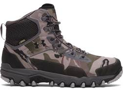 """Under Armour UA Ridge Reaper Extreme 6"""" Waterproof Uninsulated Hunting Boots Synthetic and Rubber Ridge Reaper Camo Barren Men's"""
