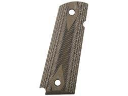Hogue Extreme Series Grips 1911 Government, Commander Ambidextrous Safety Cut Checkered G-10