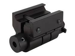 NcStar Red Laser Sight with Weaver-Style Mount Black