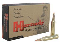 Hornady Custom Ammunition 257 Weatherby Magnum 110 Grain InterBond Boat Tail Box of 20
