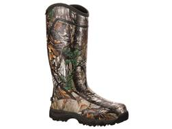 "Rocky Core 16"" Waterproof 1600 Gram Insulated Hunting Boot Rubber Realtree APX Camo"