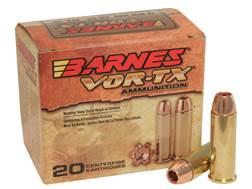 Barnes VOR-TX Ammunition 44 Remington Magnum 225 Grain XPB Hollow Point Lead-Free Box of 20