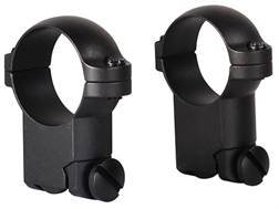 "Leupold 1"" Ring Mounts Ruger 77 Matte Super-High"