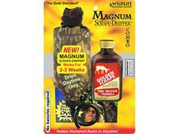 Wildlife Research Center Magnum Scrape Dripper Golden Scrape Deer Scent Combo