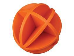 "Do-All Impact Seal Ground Bouncing Dancing Ball 4"" Reactive Target Self Healing Polymer Orange"