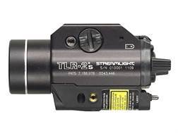 Streamlight TLR-2S Weaponlight LED with Laser and 2 CR123A Batteries fits Picatinny and Glock Rails Aluminum Matte