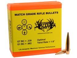 Berger Elite Hunter Hunting Bullets 270 Caliber (277 Diameter) 170 Grain Hybrid Match Hollow Poin...