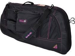 GamePlan Gear Shoot Like a Girl Bow Case Black and Pink