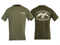 Duck Commander Duck Stops Here T-Shirt Short Sleeve Cotton