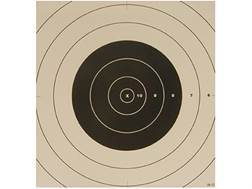 NRA Official High Power Rifle Targets Repair Center SR-21C 100 Yard Rapid Fire Paper Package of 100