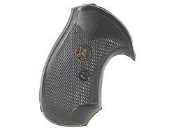 Pachmayr Compac Grips S&W J-Frame Square Butt Rubber Black