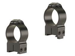 Warne 30mm Permanent-Attachable Ring Mounts CZ 550, BRNO 602 (19mm Dovetail) Gloss High