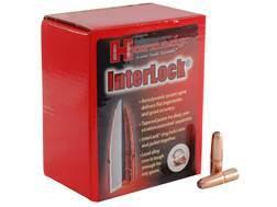 Hornady InterLock Bullets 30 Caliber (308 Diameter) 220 Grain Round Nose Box of 100