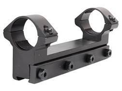 "RWS Lock Down Scope Mount with Integral 1"" Rings Rimfire and Airgun Gloss"