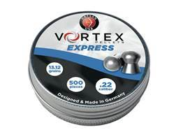 Hatsan Vortex Express Airgun Pellets 22 Caliber 13.12 Grain Round Nose Tin of 500