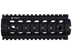 "Troy Industries 7"" MRF CAR/M4 Drop-In Battle Rail 2-Piece Quad Rail Handguard AR-15 Carbine Length Black - Blemished"
