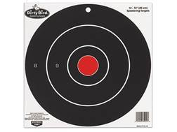 "Birchwood Casey Dirty Bird 12"" Bullseye Targets Package of 12"