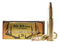 Federal Fusion Ammunition 30-30 Winchester 170 Grain Flat Nose Box of 20