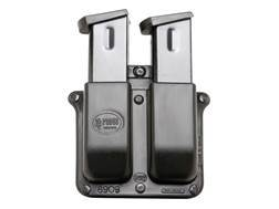 Fobus Belt Double Magazine Pouch Double-Stack 9mm Luger, 40 S&W Polymer Black