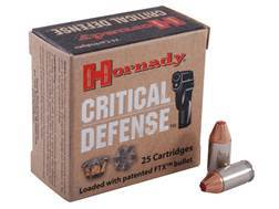 Hornady Critical Defense Ammunition 380 ACP 90 Grain Flex Tip eXpanding Box of 25