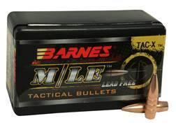 Barnes TAC-X Bullets 22 Caliber (224 Diameter) 62 Grain Hollow Point Boat Tail Lead-Free Box of 50