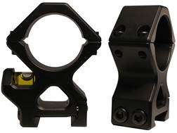 Xtreme Hardcore Gear 30mm Black Ops AR Picatinny-Style Rings with Level Matte