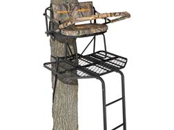 Muddy The Prestige 16' Double Ladder Treestand Steel Black