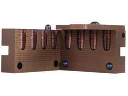 Saeco 4-Cavity Bullet Mold #391 38 Special, 357 Magnum (358 Diameter) 158 Grain Round Nose Bevel Base