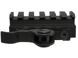 AimShot Picatinny-Style Quick-Release Riser Mount Matte