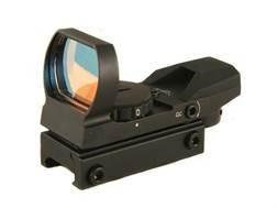 ADCO Mirage Solo Reflex Red Dot Sight 4-Pattern Reticle (3 MOA Dot, 10 MOA Dot, Bracket Dot and T Dot) Matte