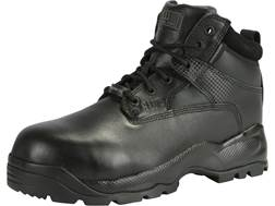 """5.11 ATAC Shield 6"""" Waterproof Uninsulated Safety Toe Tactical Boots Leather Black Men's"""